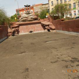 """""""Kotwica"""" – pozostaje bez wprowadzania wody do obiegu fontanny"""