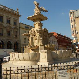 Pl.Orła Białego– pozostaje bez wprowadzania wody do obiegu fontanny