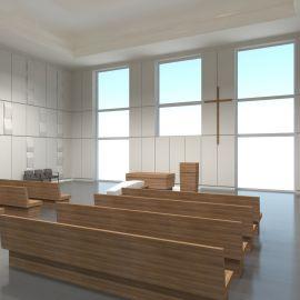 Cmentarz Zachodni - wizualizacja kaplicy