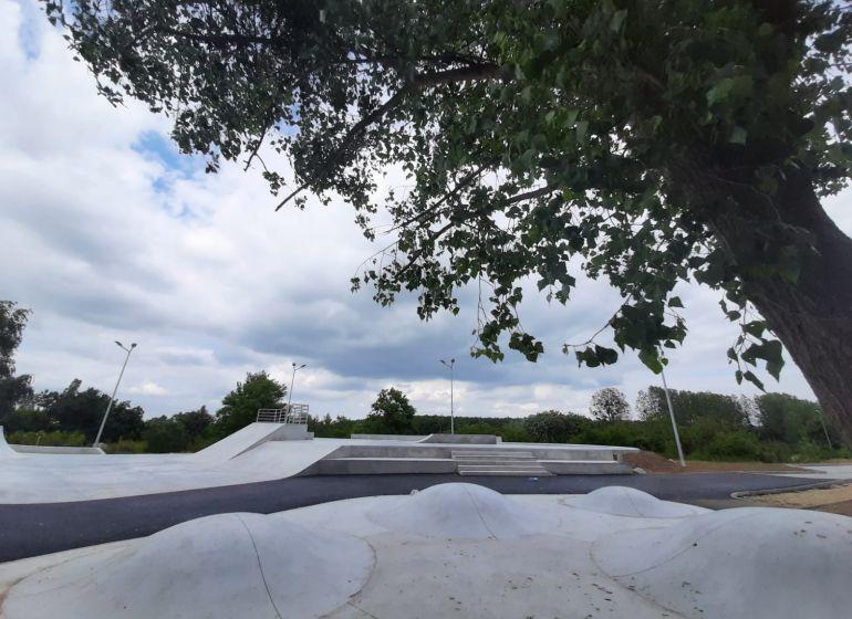 Skatepark przy ulicy Maciejowickiej