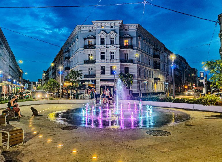 Fontanna na placu Zamenchofa