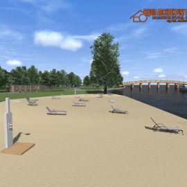 Kąpielisko Dziewoklicz - koncepcja zagospodarowania